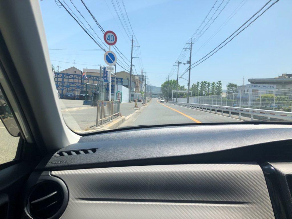 門真運転免許試験場 路上コース