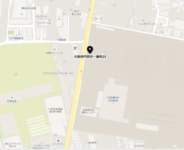門真市MAP